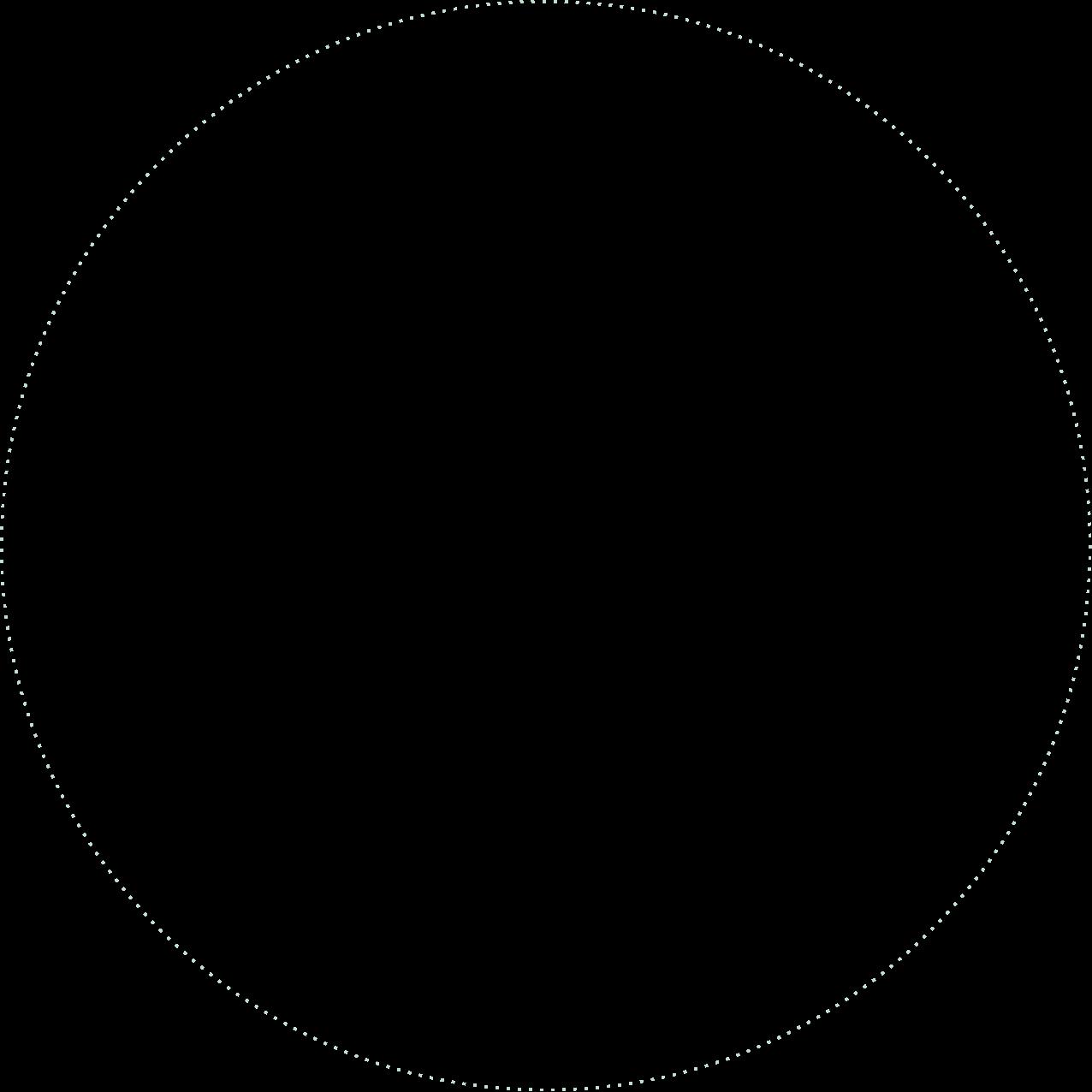 Dashed Circle